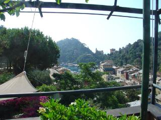 Portofino villa overlooking the harbor and village. SAL ULI