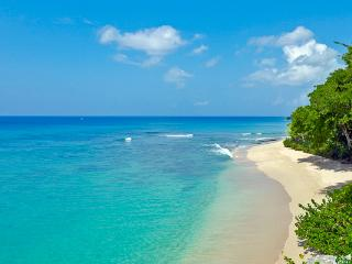 Caribbean sea views surrounded by lush gardens and a pool. WCV EDN, Trents