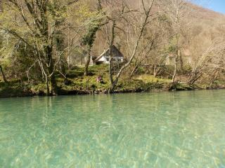 Summer house by the river, Tolmin