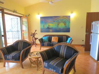 55) Private1 Bed  Apart Villa Palma Arpora & WiFi