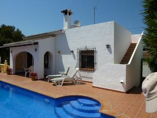 Holiday Villa with swimming pool in Moraira,