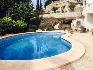 Moraira Villa Rental - Sea Views, Garden & Pool