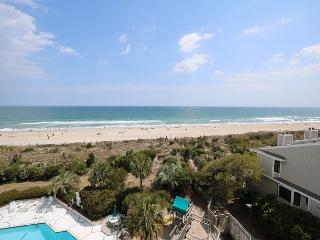Station One - 5J Grine - Oceanfront condo with community pool, tennis, beach, Wrightsville Beach