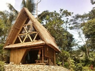 Your eco bamboo home by the river, Karangasem