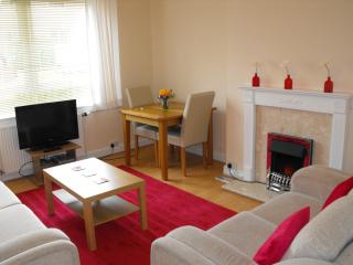 Clean comfortable apartment with private garden., St. Andrews