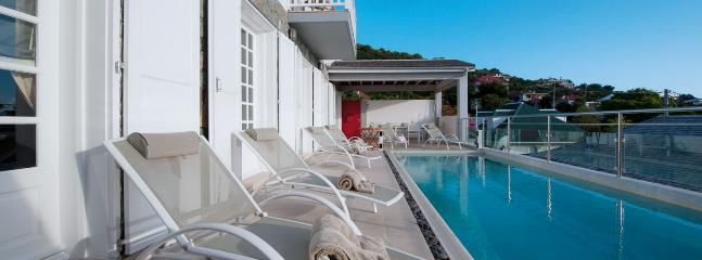 SPECIAL OFFER: St. Barths Villa 232 In The Heart Of Gustavia, Offering A View On The Harbour.