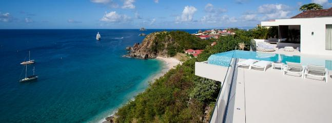 Villa Vitti SPECIAL OFFER: St. Barths Villa 237 Hanging Above Shell Beach, This New Villa Combines All Assets Possible For An Unforgettable Stay., Gustavia