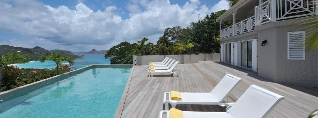 SPECIAL OFFER: St. Barths Villa 242 Enjoy The Large Sunny Terrace With Ocean View., St. Jean