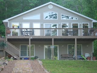 Lake front home at the Lake of the Ozarks, Eldon