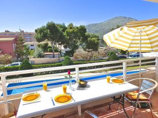 Big Apartment with pool nice view!, Port d'Alcudia