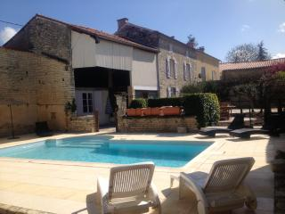 Village House with Private Pool in Charente, Mansle