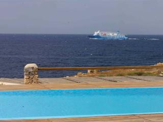 Wonderful sea view villa with absolute privacy, Mykonos (ville)