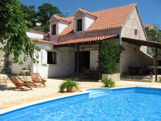 Villa Dolphins with pool and air conditioning, Nerezisca