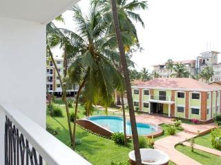 Sun n sand Cozy one bedroom Apartment, Candolim