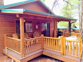 Peaceful Pines Cabin w/ Fenced Yard for Dogs!, Show Low