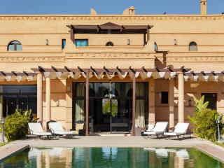 Modern villa with a traditional architecture, Marrakech
