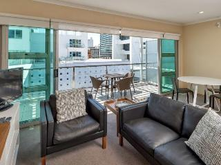 Princes Wharf 4th floor Serviced One Bedroom Apartment with City Views from Balcony, Auckland Central