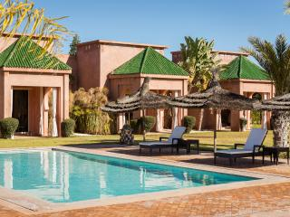 Villa with a typical moroccan architecture, Marrakech