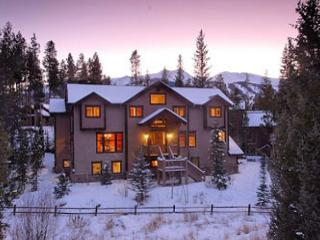 Families love the six-bedroom Chelsea House, Breckenridge