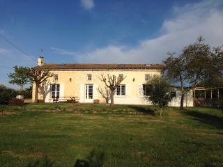 Beautiful french farm cottage with private pool, Bordeaux