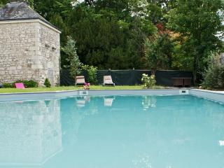 Les Longchamps - historic stone mansion in the Pays de la Loire with private pool – sleeps 22, Neuille