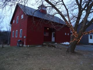 Restored 1805 Vermont Carriage Barn, Charlotte