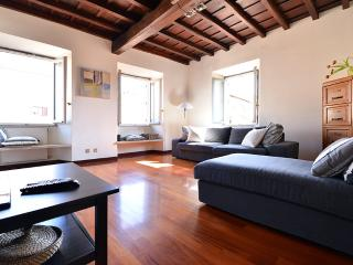 Farnese elegant apartment, Rome