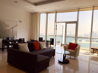 Relax on the Balcony of our Large 1 Bed in Tiara, Dubai