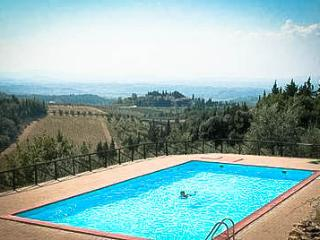 APARTMENT RENTAL: 2 BEDROOMS, SLEEPS 7 IN CASTELLI, Castellina In Chianti