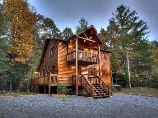 Private and Secluded Cabin with Creek Frontage on Laurel Creek, Blue Ridge