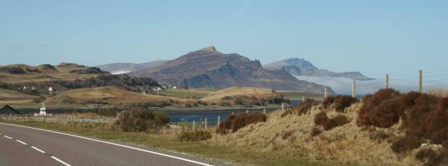 The Old Man of Storr in the sea mist