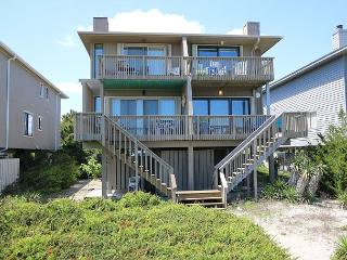 Wallace-A wonderful vacation awaits you in this spacious oceanfront townhouse, Wrightsville Beach
