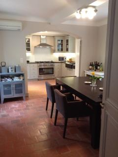 The Dining Room Towards the Kitchen