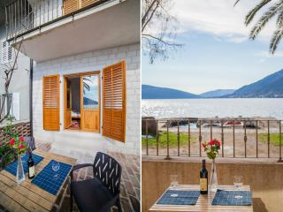 Apartments Stone House - Two-Bedroom Apartment with Terrace and Sea View, Tivat