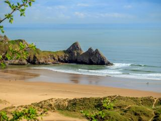 Burcot Holiday Cabin, Three Cliffs Bay, Gower, Swansea