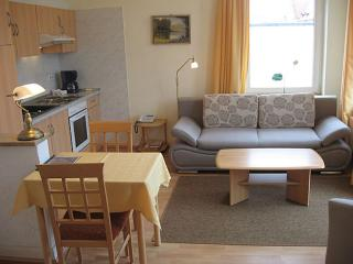 Vacation Apartment in Bad Schwartau - 420 sqft, located in a renovated villa, courtyard available, washer…