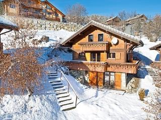Ski chalet with beautiful views of the mountains, Les Allues