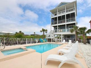 Beachfront Home with Pool/Spa,Sunset Views, North Cape **5/21/16 $6650 / wk**, Cape San Blas