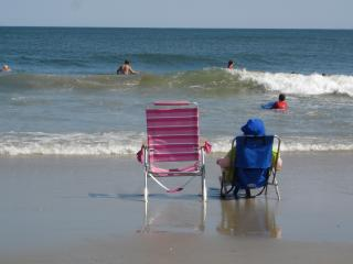 On the beach in Brigantine, NJ