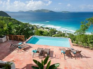 Situated on a private hillside above Long Bay Beach. MAT ALF, Tortola