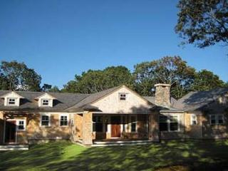 WATERFRONT VINEYARD CONTEMPORARY HOME LOCATED ON TISBURY GREAT POND, Chilmark