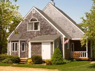 SWEET, CLEAN AND BRIGHT CAPE WITH LOVELY DECK OVERLOOKING GRASSY YARD, Edgartown