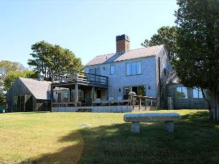 CLASSIC VINEYARD WATERFRONT HOME AT GREAT FISHING SPOT, West Tisbury