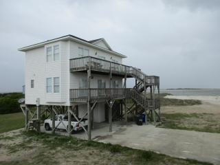 North Topsail Beach, Views of inlet and beach
