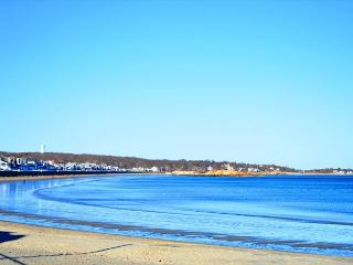 Long Beach Place: Steps from the white sand and surf, sleeps 8+,central A/C, Gloucester