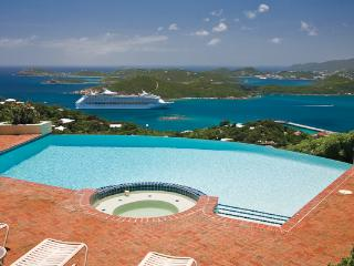 Unique, luxury mansion in prestigious neighborhood on over 2 acres of scenic hilltop. MA VEN, St. Thomas