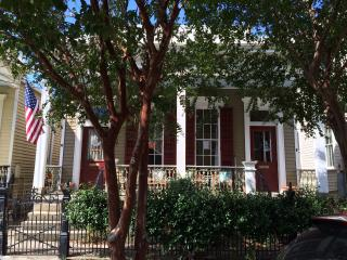 Garden District Charmer with large yard and porch, New Orleans