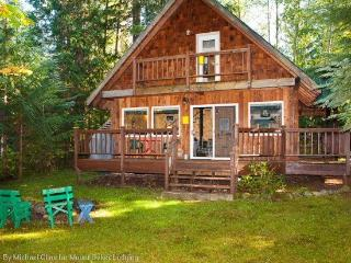 #32 Private, Cute 2-Story Cabin, Glacier
