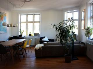 Large charming Copenhagen corner apartment near City, Copenhague