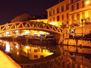 Navigli... one of the most trendy area in Milan!